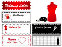 Tailoring Labels Royalty Free Stock Image