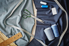 Tailoring objects Royalty Free Stock Images
