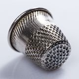 Tailoring. Thimble, also known as finger guard Royalty Free Stock Image