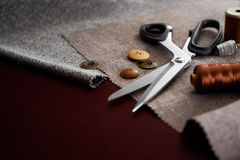 Tailoring Tools Royalty Free Stock Image