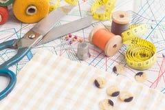 Tailoring tools Stock Photos