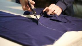 Tailoring work stock footage