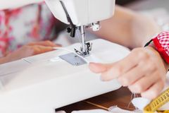 Tailors studio Stock Photos