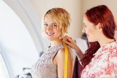 At tailors studio Stock Photo