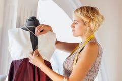 At tailors studio Royalty Free Stock Photo