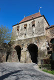 The Tailors' Tower in Sighisoara - Turnul Croitorilor din Sighisoara Stock Image