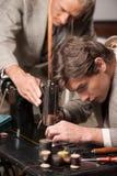 Tailors at work. Stock Photos