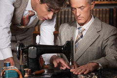 Tailors at work. Stock Images