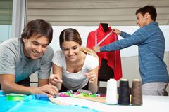 Tailors At Work Royalty Free Stock Photography