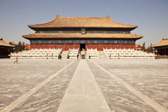 Taimiao Ancestral Temple Stock Photo