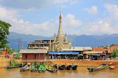 Tain Nan Pogada, Nyaungshwe, Myanmar Royalty Free Stock Image