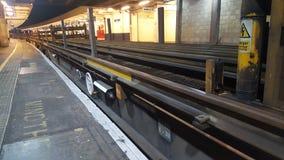Tain tacks under bridge Royalty Free Stock Photo