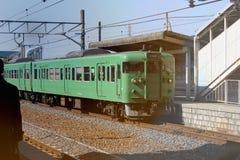 Tain verde en Japón foto de archivo libre de regalías