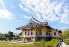 Tainan Bushido Hall in tainan city Royalty Free Stock Photos