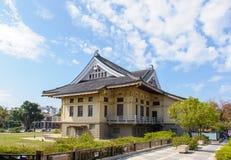 Tainan Bushido Hall in tainan city Stock Photos