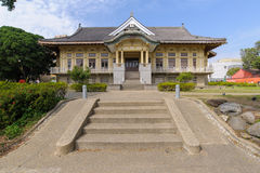 Tainan Bushido Hall under the clear sky Royalty Free Stock Images