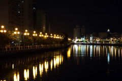 Tainan canal Stock Photography