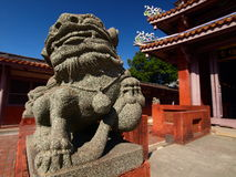 Tainan Confucius Temple Royalty Free Stock Image