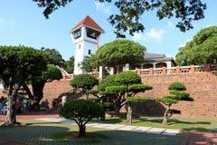Tainan Fort Zeelandia imagen de archivo libre de regalías