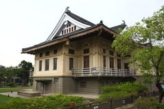 Tainan japan style building Royalty Free Stock Image
