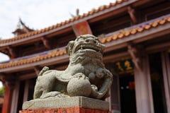 Tainan Konfucjuszowa świątynia, Tainan, Tajwan, 2015 obrazy stock