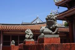 Tainan Konfucjuszowa świątynia, Tainan, Tajwan, 2015 fotografia stock