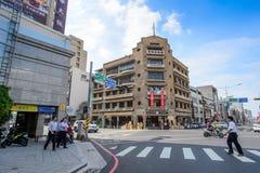 Tainan, Taiwán - noviembre 20,2017: Hayashi Department Store Los grandes almacenes que inauguraron una edad de la moda en los año Foto de archivo