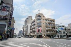 Tainan, Taiwan - November 20,2017: Hayashi Department Store Das Kaufhaus, das ein Alter der Mode in den dreißiger Jahren eröffnet Lizenzfreie Stockfotografie