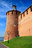 Tainitzkaya tower of Nizhny Novgorod Kremlin Royalty Free Stock Photography