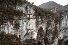 Tainmem山在张家界市 免版税库存图片