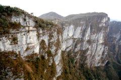 Tainmem山在张家界市 免版税库存照片