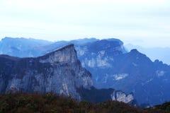 Tainmem mountain in Zhangjiajie city Royalty Free Stock Photo