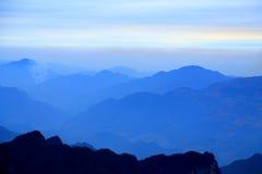Tainmem mountain in Zhangjiajie city Stock Photos