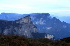 Tainmem mountain in Zhangjiajie city Royalty Free Stock Images