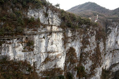 Tainmem mountain in Zhangjiajie city Royalty Free Stock Image