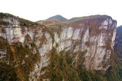 Tainmem mountain in Zhangjiajie city Stock Images