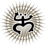 Taino иллюстрации вектора лягушки Coqui Стоковые Изображения RF