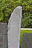 Taino fågelPetroglyphs 2 Royaltyfria Foton