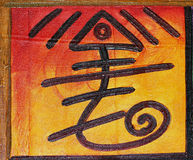 Taino painting Stock Photography