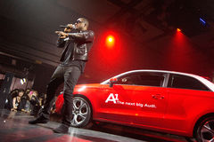Taio Cruz in Audi A1 event Stock Photography