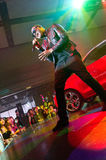 Taio Cruz in Audi A1 event Royalty Free Stock Photography