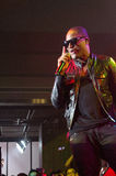 Taio Cruz in Audi A1 event Royalty Free Stock Images