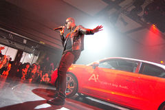 Taio Cruz in Audi A1 event Stock Photo