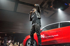 Taio Cruz in Audi A1 event Stock Images