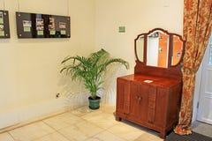 Taipa расквартировывает меблировкы музея внутренние, Макао, Китай стоковое изображение rf