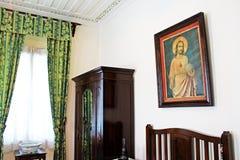 Taipa расквартировывает меблировкы музея внутренние, Макао, Китай стоковая фотография