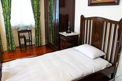 Taipa abriga o mobiliário interior do museu, Macau, China foto de stock