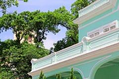 Taipa alloggia il museo, Macao, Cina fotografie stock