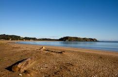 Taipa Beach, Northland, New Zealand. Taipa Beach on a still morning with clear blue skies, Doubtless Bay, Northland, New Zealand Royalty Free Stock Photos