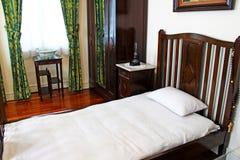 Taipa contiene el mobiliario interior del museo, Macao, China foto de archivo